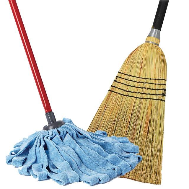 Brooms & Mops
