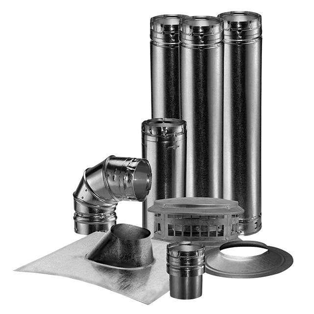 Gas Vent Pipe