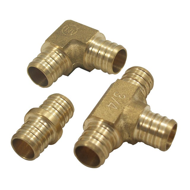 Aubuchon hardware pipe fittings pipe plumbing for Plastic water pipe pex