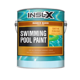 Benjamin Moore® insl-x® Rubber Based Pool Paint Exterior Satin RM White Gallon