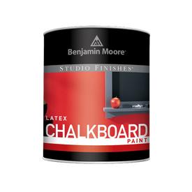 Benjamin Moore® Ultra Spec® Studio Finishes® Chalkboard Interior Acrylic Latex Eggshell RM Black Quart