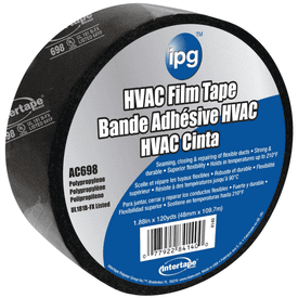 IPG 84140 Film Tape, 120 yd L, 1-7/8 in W, 2 mil Thick, Acrylic Adhesive