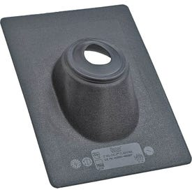 Hercules No-Calk 11898 Roof Flashing, 13 in OAL, 9-1/4 in OAW, Thermoplastic