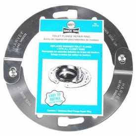 HARVEY'S 014710 Flange Repair Ring, 1/4 in Connection, Stainless Steel