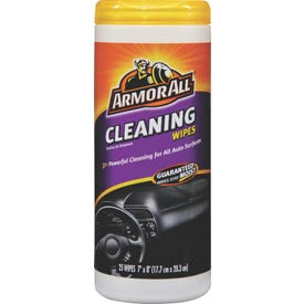 Armor All 10863-0 Cleaning Wipes, Clear, 25 Carton