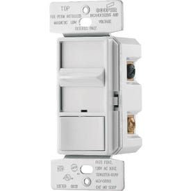 Eaton Wiring Devices SI06P-W-K Dimmer, 120 V, 600 W, Halogen, Incandescent Lamp, 3-Way, White