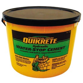 Quikrete 1126-11 Hydraulic Cement, Gray, Solid, 10 lb Pail