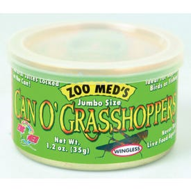 ZOO MED ZM-44 Grasshoppers, 1.2 oz Can