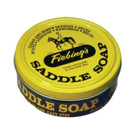Fiebing's SOAP81T012Z Saddle Soap, Paste, Yellow, 12 oz Can