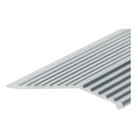 Frost King H591FS/3 Carpet Bar, 3 ft L, 1-3/8 in W, Fluted Surface, Aluminum, Silver, Satin