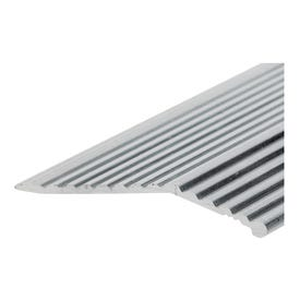 Frost King H591FS/6 Carpet Bar, 6 ft L, 1-3/8 in W, Fluted Surface, Aluminum, Silver, Satin