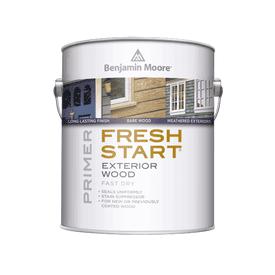 Benjamin Moore®  Fresh Start® Fast Dry Exterior Wood Primer White Gallon