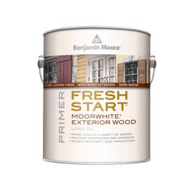 Benjamin Moore®  Fresh Start® Moorwhite® Exterior Wood  Penetrating Primer White Gallon