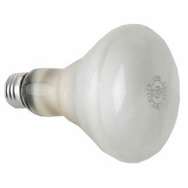 GE 20331 Light Bulb, 65 W, BR30 Lamp, E26 Medium Lamp Base, 610 Lumens, 2600 K Color Temp, White Light