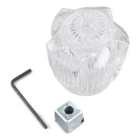 BrassCraft SH3469 Handle, Acrylic, For: Lav/Kitchen/Tub/Shower Faucets