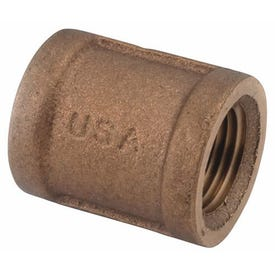 Smith-Cooper 36CP1006L Pipe Coupling, 3/4 in, Threaded, Brass