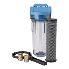 Pentair OMNIFilter U25-S-05 Whole House Water Filter System, 3/4 in Water Inlet