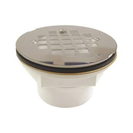 B & K 133-106 Shower Drain, Plastic, For: 2 in DWV or SCH 40 ABS or PVC Pipes