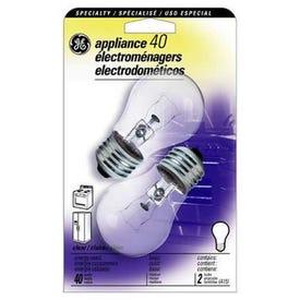 GE 21188 Ceiling Fan Bulb, 40 W, A15 Lamp, E26 Medium Lamp Base, 415 Lumens, 1500 hr Average Life