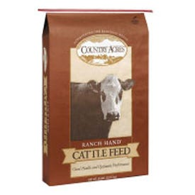 Purina COUNTRY ACRES 0051858 Livestock Feed, 50 lb