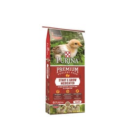 Purina Animal Nutrition Start and Grow Medicated Poultry Feed