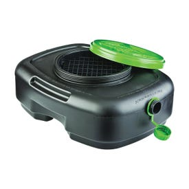 Scepter 06984 Drain Container, 12 qt Capacity, Polyethylene