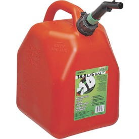 Scepter 00003 Gas Can, 5 gal Capacity, Polyethylene, Red