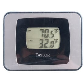 Taylor Precision Weather Guide Indoor and Outdoor Thermometer