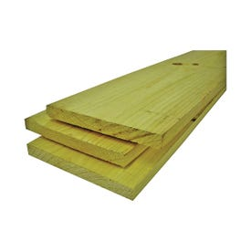 ALEXANDRIA Moulding 0Q1X6-70096C Common Board, 8 ft L, 6 in W, 1 in Thick, Pine