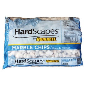 Quikrete HardScapes 1175-00 Marble Chip, Stone, White