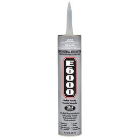 ECLECTIC 232021 Adhesive Caulk, Clear, 24 hr Curing, 10.2 oz