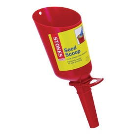 Classic Brands Stokes Select 38095 Seed Scoop, 1.33 lb Capacity, Plastic, Red, 4.42 in L