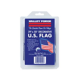 Valley Forge 99000-1 USA Flag, 2-1/2 ft W, 4 ft H, Polycotton