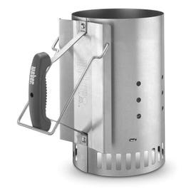 Weber 7416 Chimney Starter, Steel, Ergonomic Handle