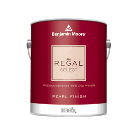 Benjamin Moore® Regal® Select Interior Paint Pearl White RM Gallon