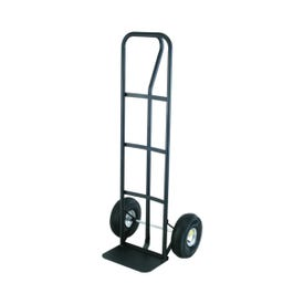 Olympia Tools 85-004 Hand Truck, 600 lb, Pneumatic Caster, Steel Frame, Black