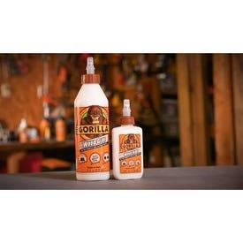 Gorilla 6200002 Wood Glue, Light Tan, 8 oz Bottle