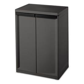 Sterilite® Two Shelf Storage Cabinet