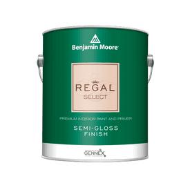 Benjamin Moore® Regal® Select Interior Paint Semi Gloss White RM Gallon