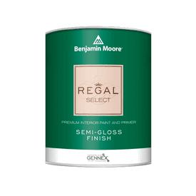 Benjamin Moore® Regal® Select Interior Paint Semi Gloss White RM Quart