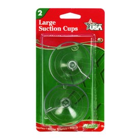 Adams Clear Large Suction Cup 2 1/2'' 2Pk