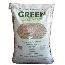 Green Supreme Blended Wood Pellets, 40 Lbs Bag