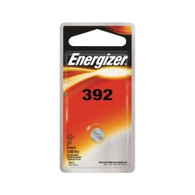 Energizer 392BPZ Coin Cell Battery, 1.5 V Battery, 44 mAh, 392 Battery, Silver Oxide