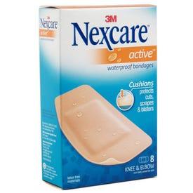 NeXcare 511-08 Knee/Elbow Bandage, 1.13 in W, 4 in L, Foam Bandage