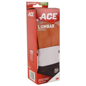 ACE 208604 Lumbar Support, Black/Gray