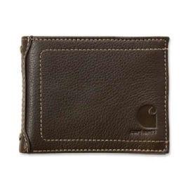Carhartt 61-2201-20OFAA Pass Case Wallet, Men's, One-Size, Zipper Closure, Carhartt Brown