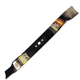 Maxpower 331731 Mulching Blade, 22 in L, 2-1/4 in W