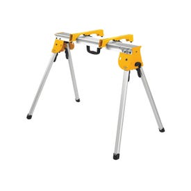 DeWALT DWX725B Work Stand with Miter Saw Mounting Bracket, 1000 lb, 36 in W Stand, 32 in H Stand, Aluminum