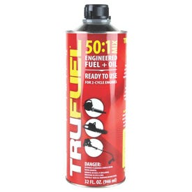 TRUFUEL 6525638 Premixed Oil, 32 oz Can, Red