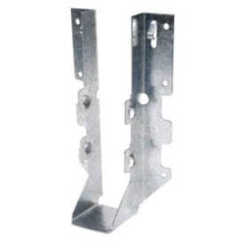 Simpson Strong-Tie LUS28 Joist Hanger, 6-5/8 in H, 1-3/4 in D, 1-9/16 in W, Steel, Galvanized, Face Mounting